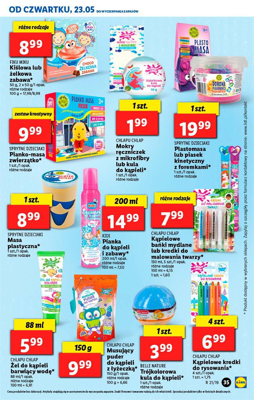 Gazetka Lidl Polska Sp. z o.o. nr 35 od 2019-05-23 do 2019-05-26