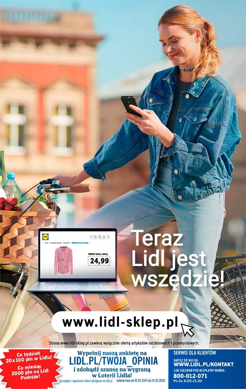 Gazetka Lidl Polska Sp. z o.o. nr 42 od 2019-05-23 do 2019-05-26