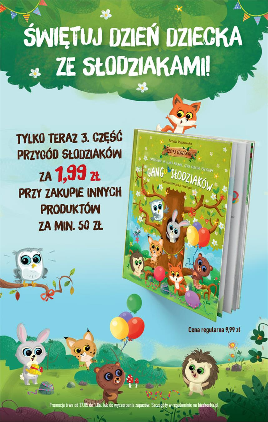 Gazetka Jeronimo Martins Polska SA nr 2 od 2019-05-27 do 2019-06-02