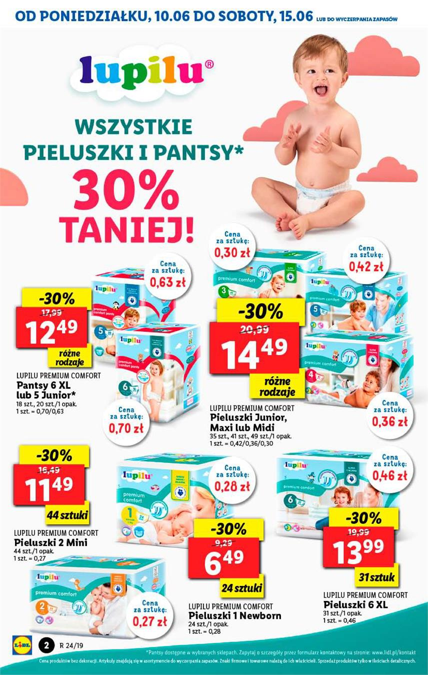 Gazetka Lidl Polska Sp. z o.o. nr 2 od 2019-06-10 do 2019-06-12