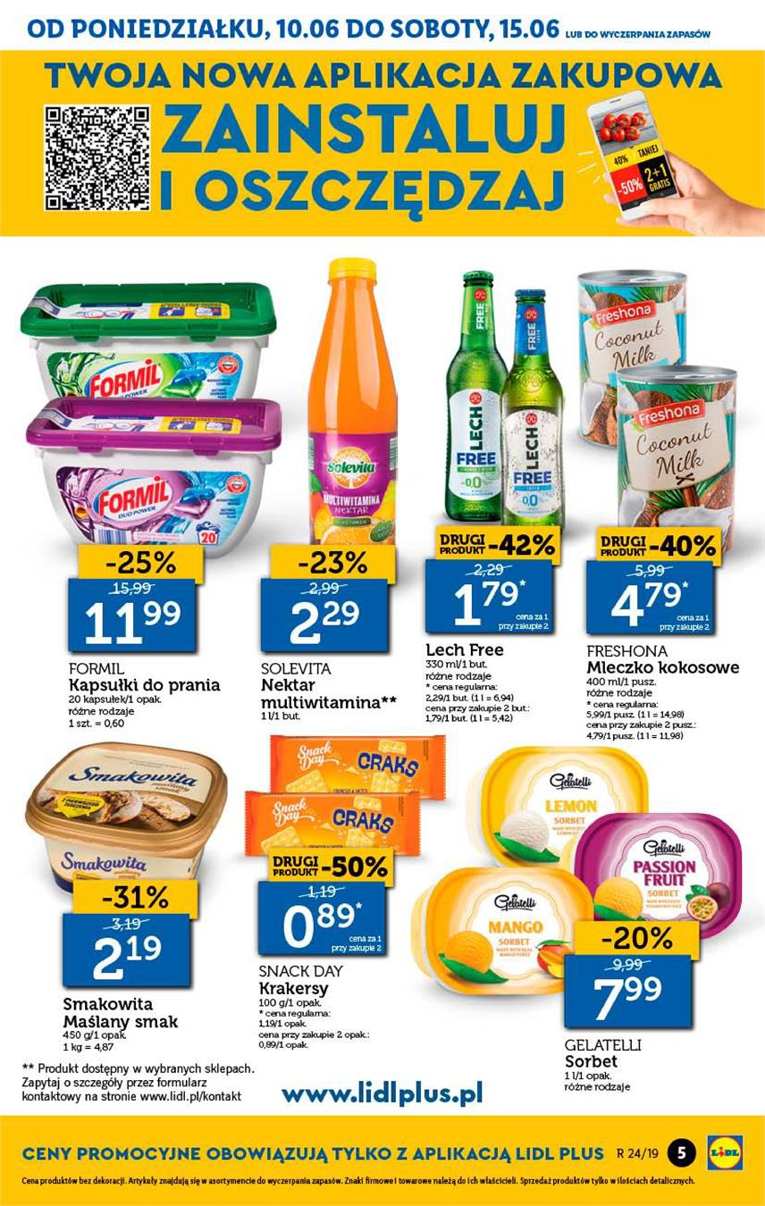 Gazetka Lidl Polska Sp. z o.o. nr 5 od 2019-06-10 do 2019-06-12