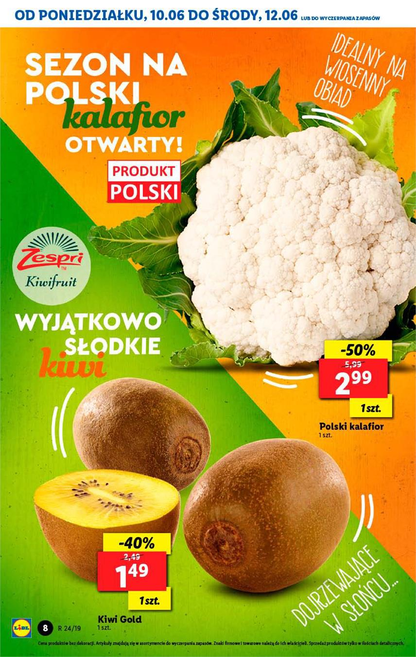 Gazetka Lidl Polska Sp. z o.o. nr 8 od 2019-06-10 do 2019-06-12