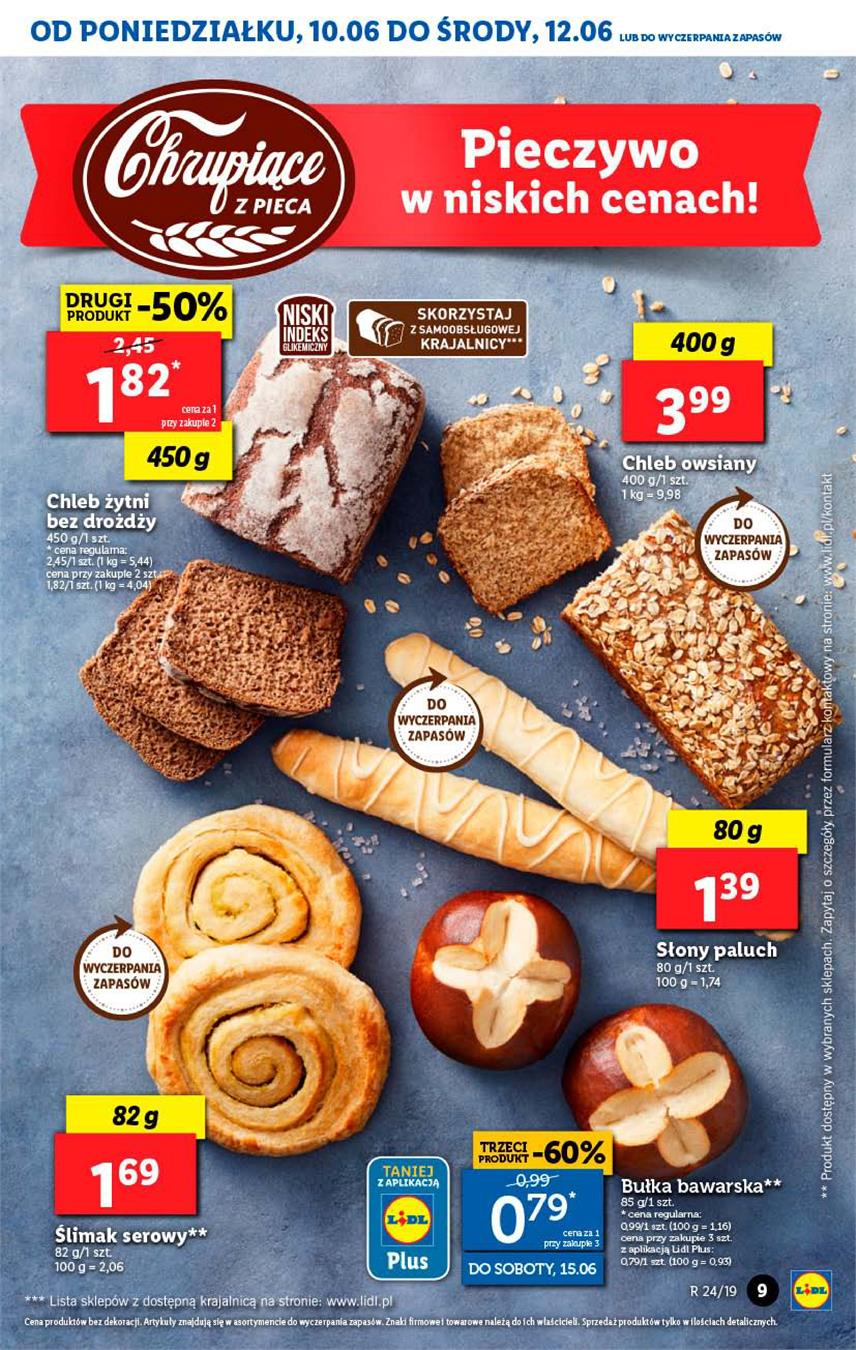 Gazetka Lidl Polska Sp. z o.o. nr 9 od 2019-06-10 do 2019-06-12