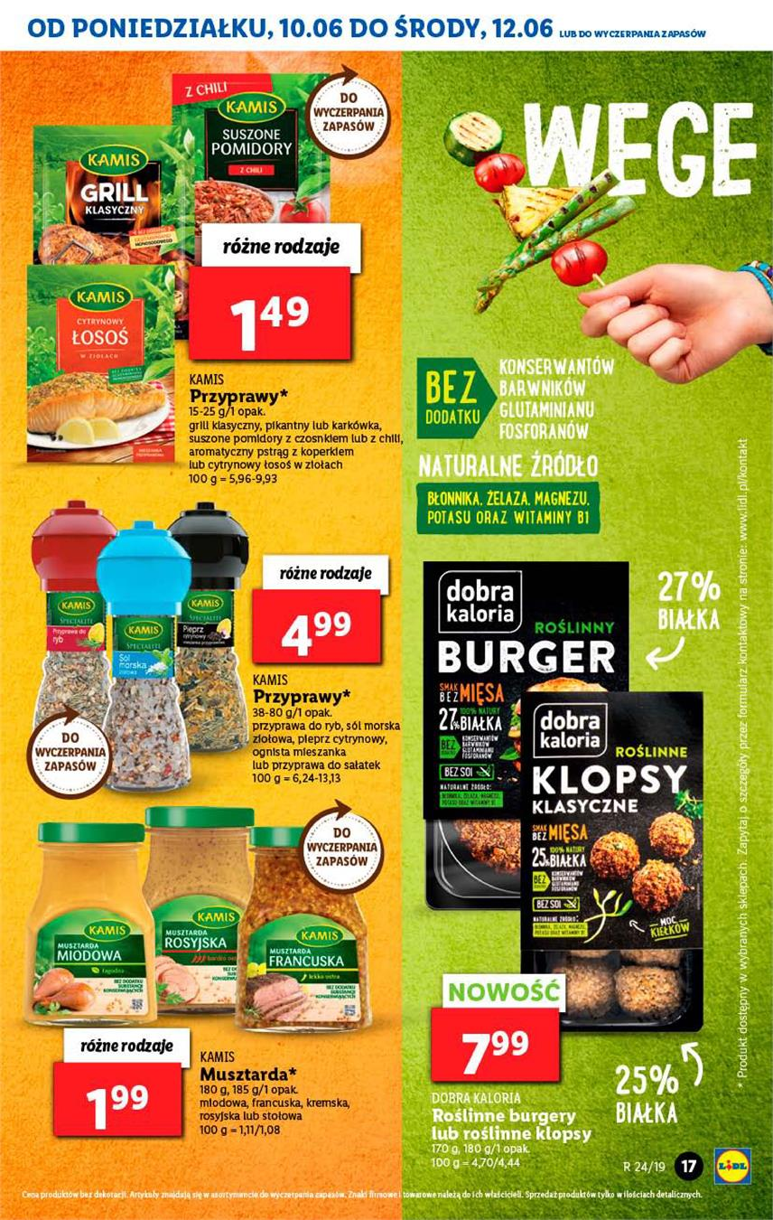 Gazetka Lidl Polska Sp. z o.o. nr 17 od 2019-06-10 do 2019-06-12