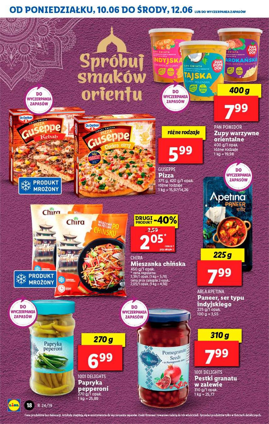 Gazetka Lidl Polska Sp. z o.o. nr 18 od 2019-06-10 do 2019-06-12