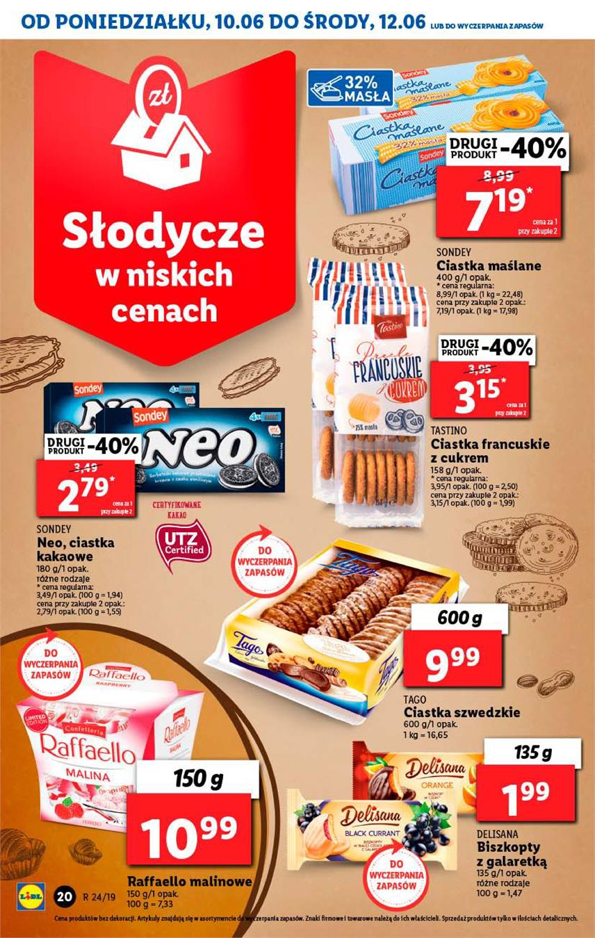Gazetka Lidl Polska Sp. z o.o. nr 20 od 2019-06-10 do 2019-06-12