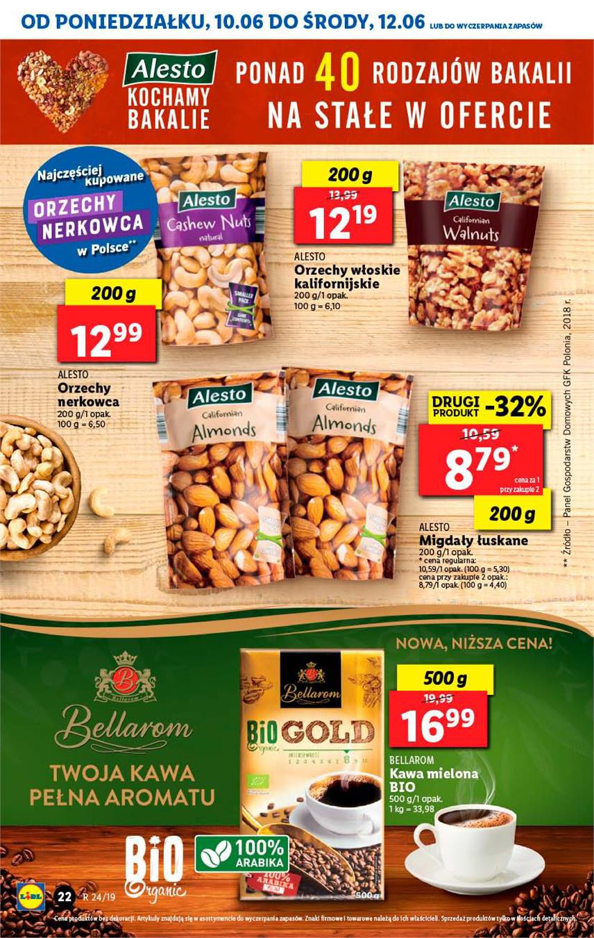 Gazetka Lidl Polska Sp. z o.o. nr 22 od 2019-06-10 do 2019-06-12