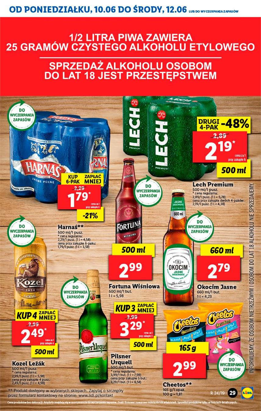 Gazetka Lidl Polska Sp. z o.o. nr 29 od 2019-06-10 do 2019-06-12