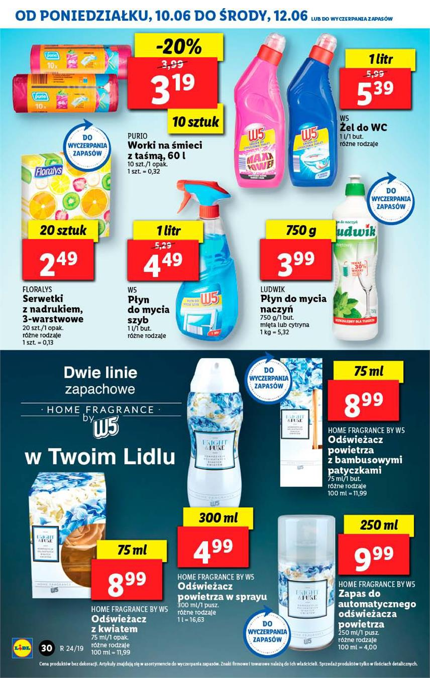 Gazetka Lidl Polska Sp. z o.o. nr 30 od 2019-06-10 do 2019-06-12