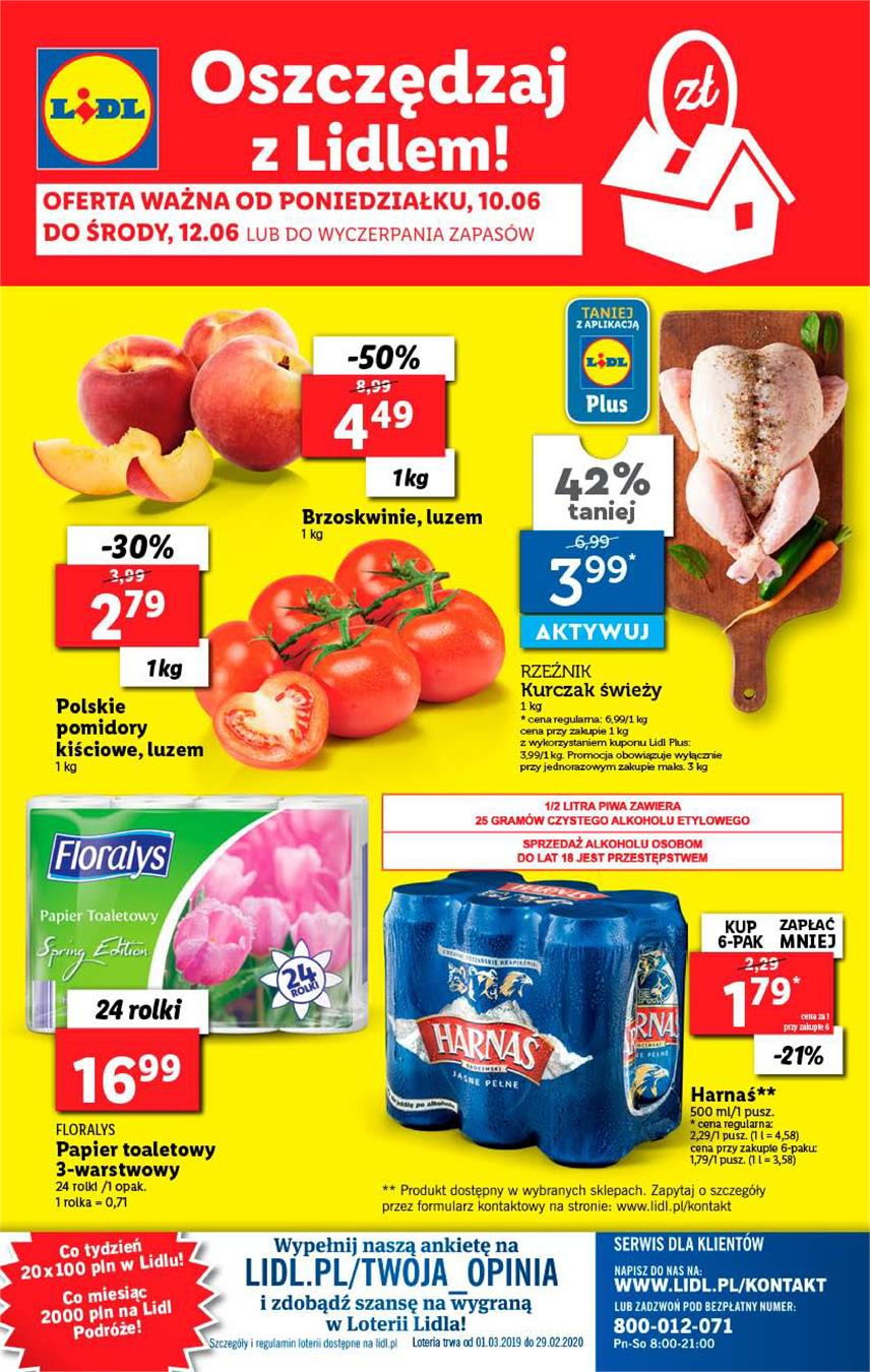Gazetka Lidl Polska Sp. z o.o. nr 32 od 2019-06-10 do 2019-06-12