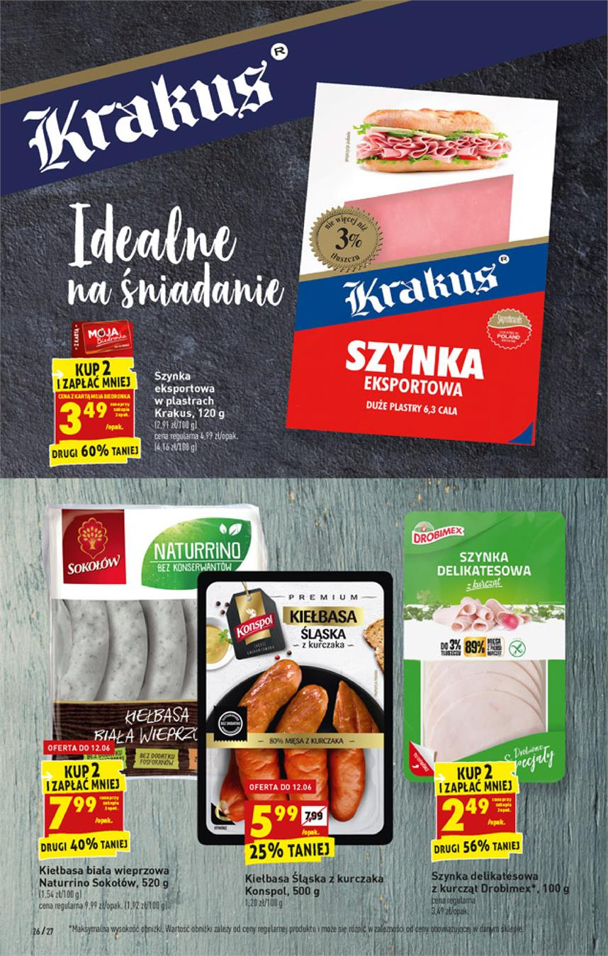 Gazetka Jeronimo Martins Polska SA nr 26 od 2019-06-10 do 2019-06-15