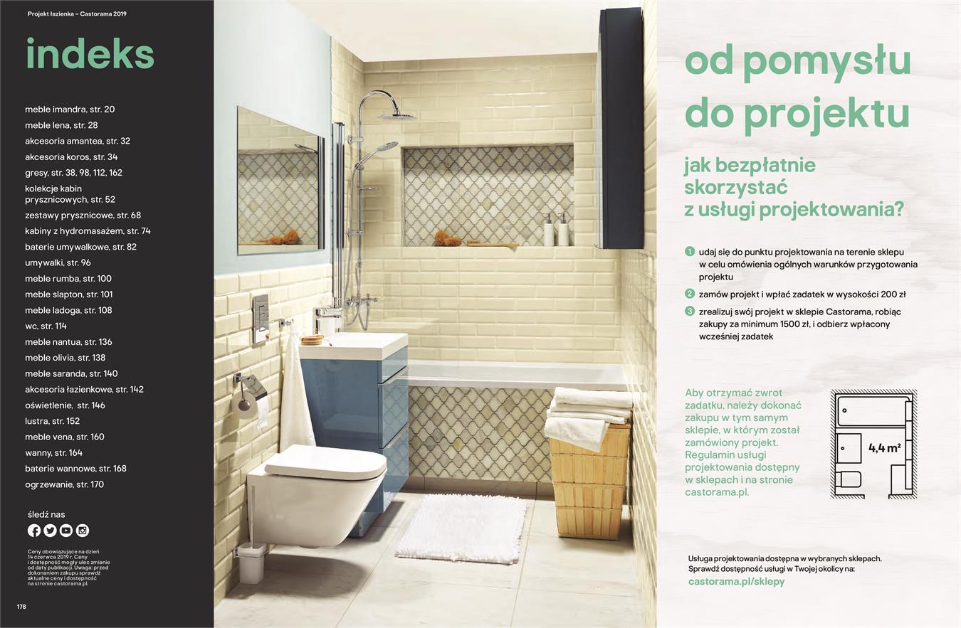 Gazetka Promocyjna Castoramapl Katalog łazienki