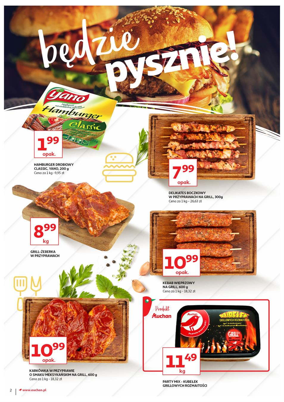 Gazetka Auchan Polska Sp. z o.o. nr 2 od 2019-06-13 do 2019-06-23