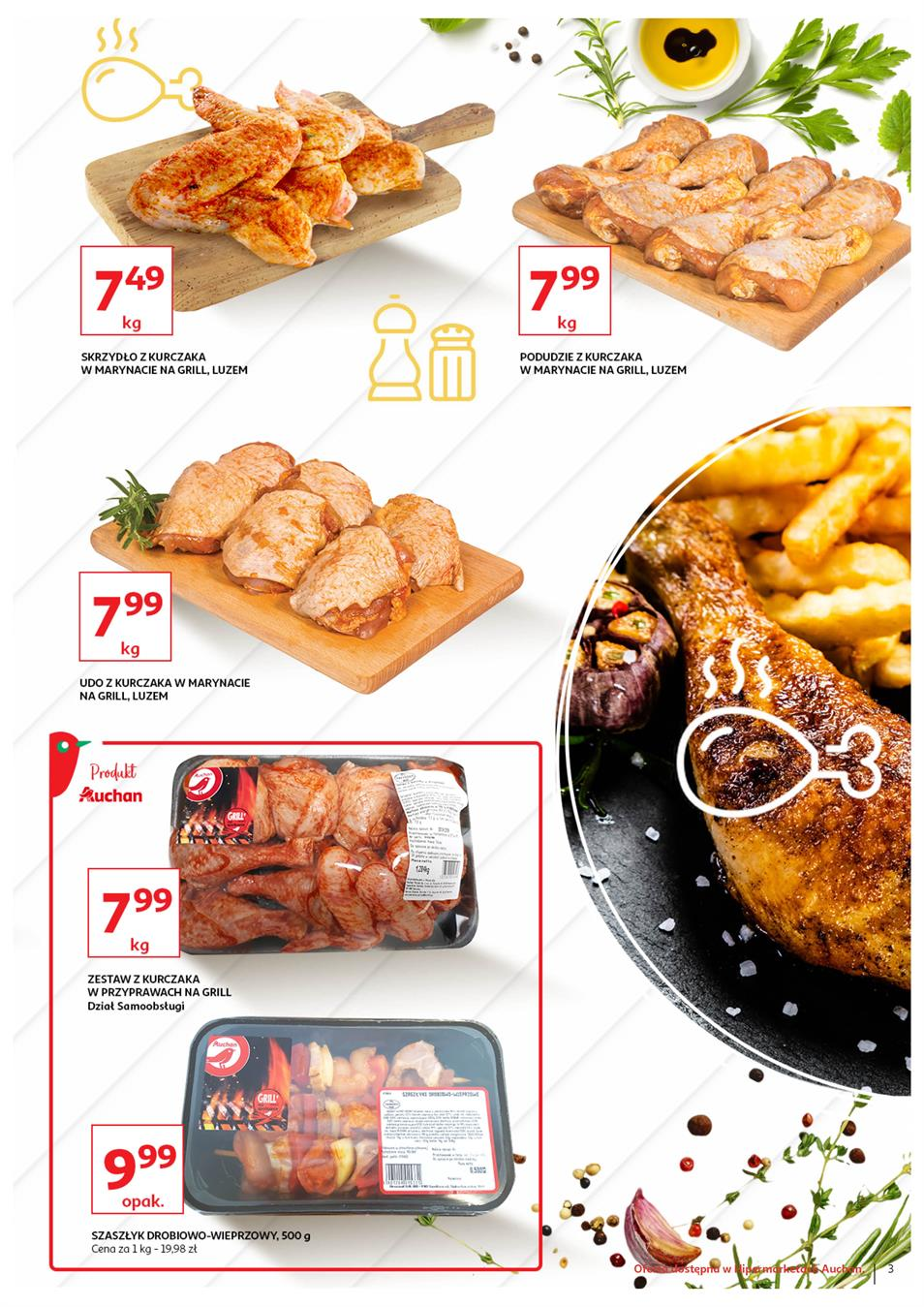 Gazetka Auchan Polska Sp. z o.o. nr 3 od 2019-06-13 do 2019-06-23