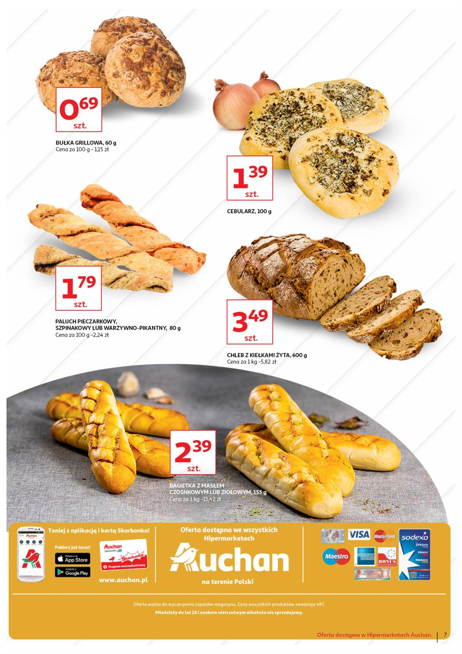 Gazetka Auchan Polska Sp. z o.o. nr 7 od 2019-06-13 do 2019-06-23