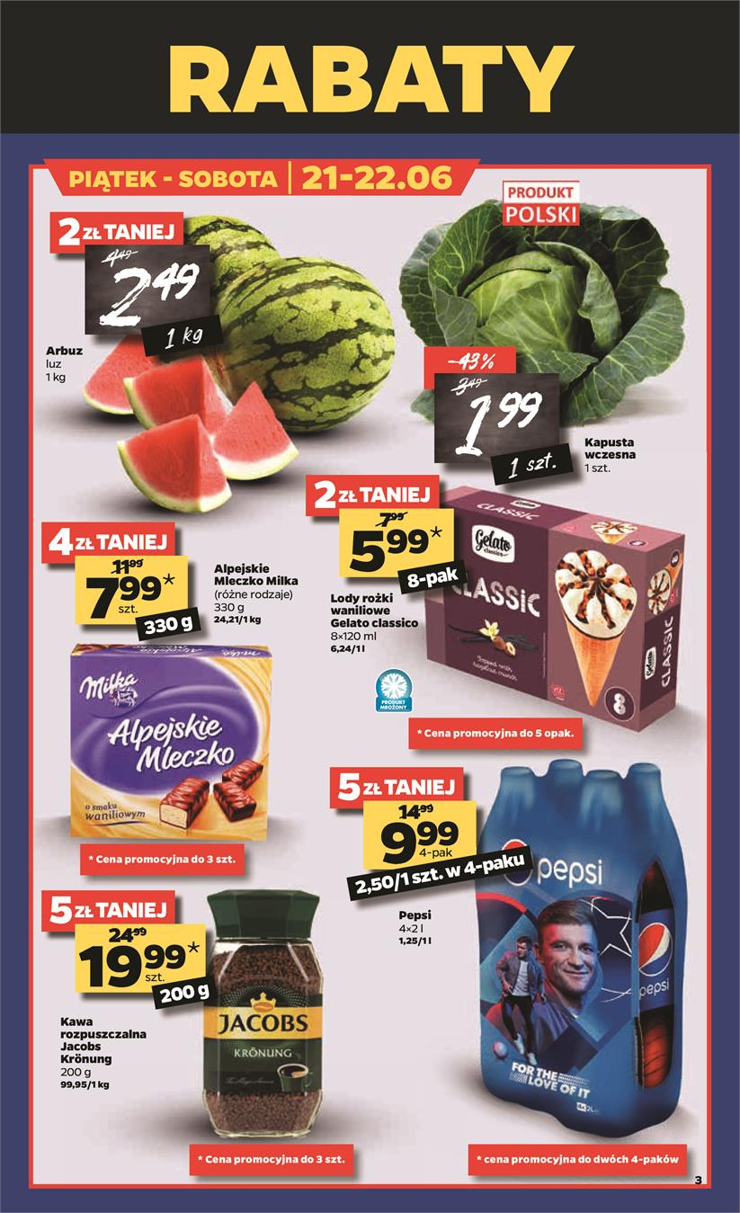 Gazetka Netto Sp. z o.o. nr 3 od 2019-06-17 do 2019-06-23