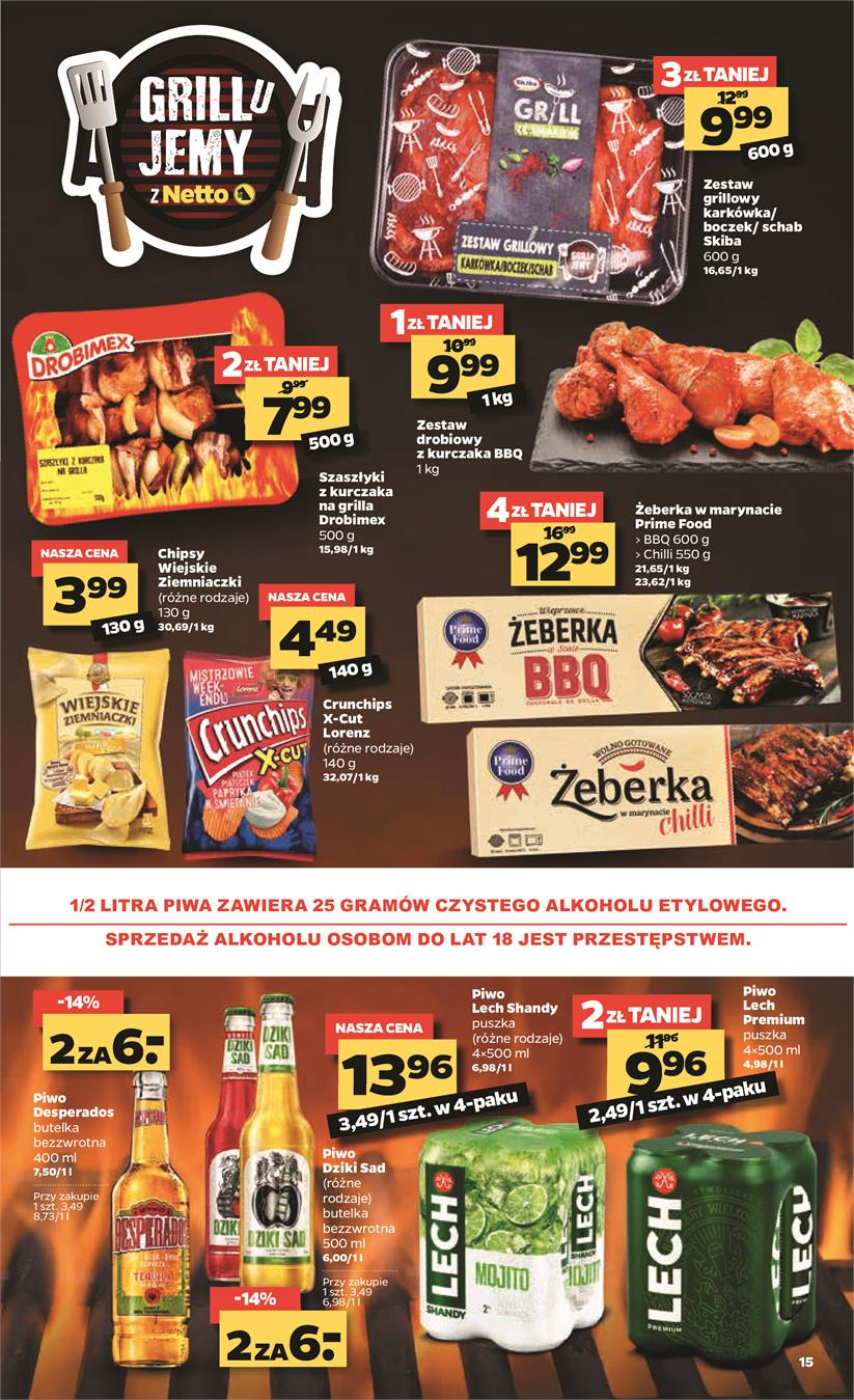 Gazetka Netto Sp. z o.o. nr 15 od 2019-06-17 do 2019-06-23