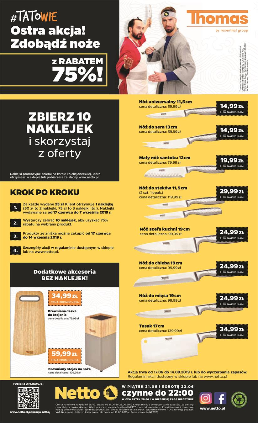 Gazetka Netto Sp. z o.o. nr 16 od 2019-06-17 do 2019-06-23