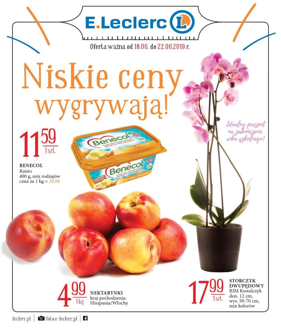 Gazetka Galec Sp. z o.o  nr 1 od 2019-06-18 do 2019-06-22