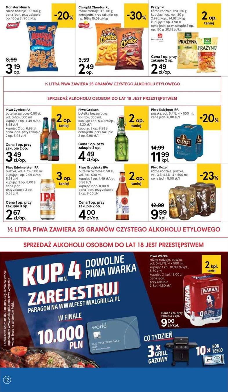 Gazetka Tesco Polska Sp. z o.o. nr 4 od 2019-06-19 do 2019-06-26