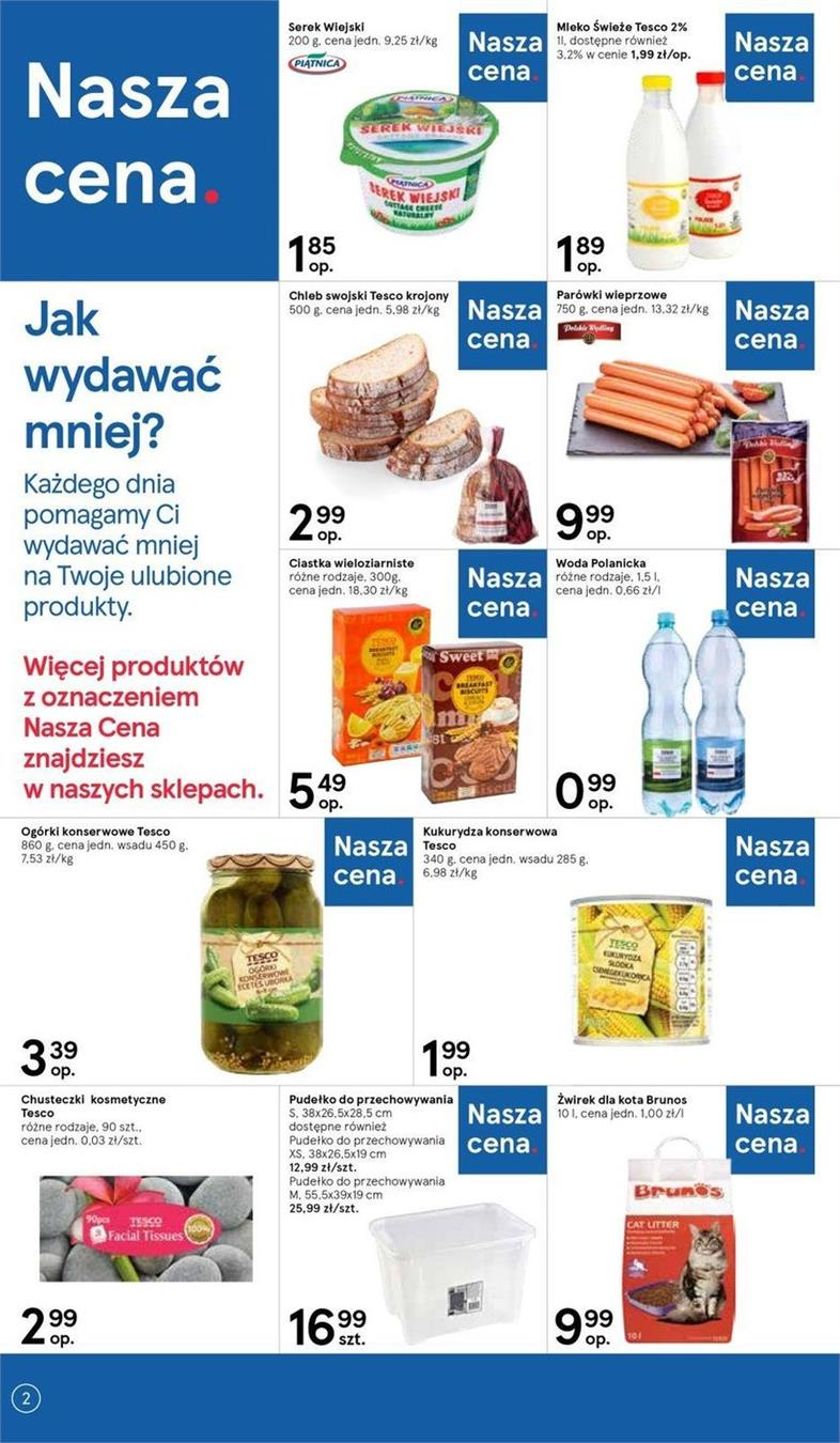Gazetka Tesco Polska Sp. z o.o. nr 12 od 2019-06-19 do 2019-06-26