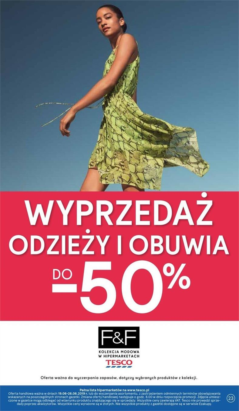 Gazetka Tesco Polska Sp. z o.o. nr 16 od 2019-06-19 do 2019-06-26