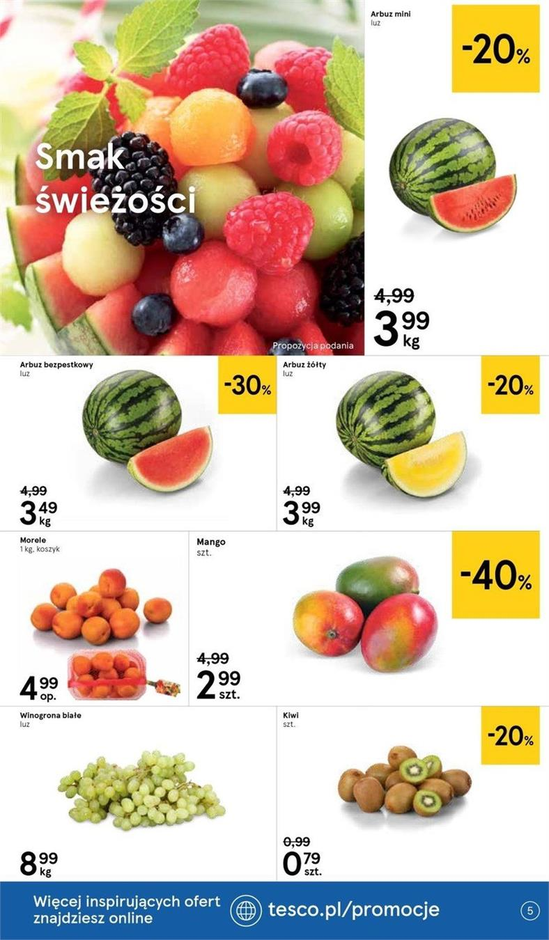 Gazetka Tesco Polska Sp. z o.o. nr 18 od 2019-06-19 do 2019-06-26