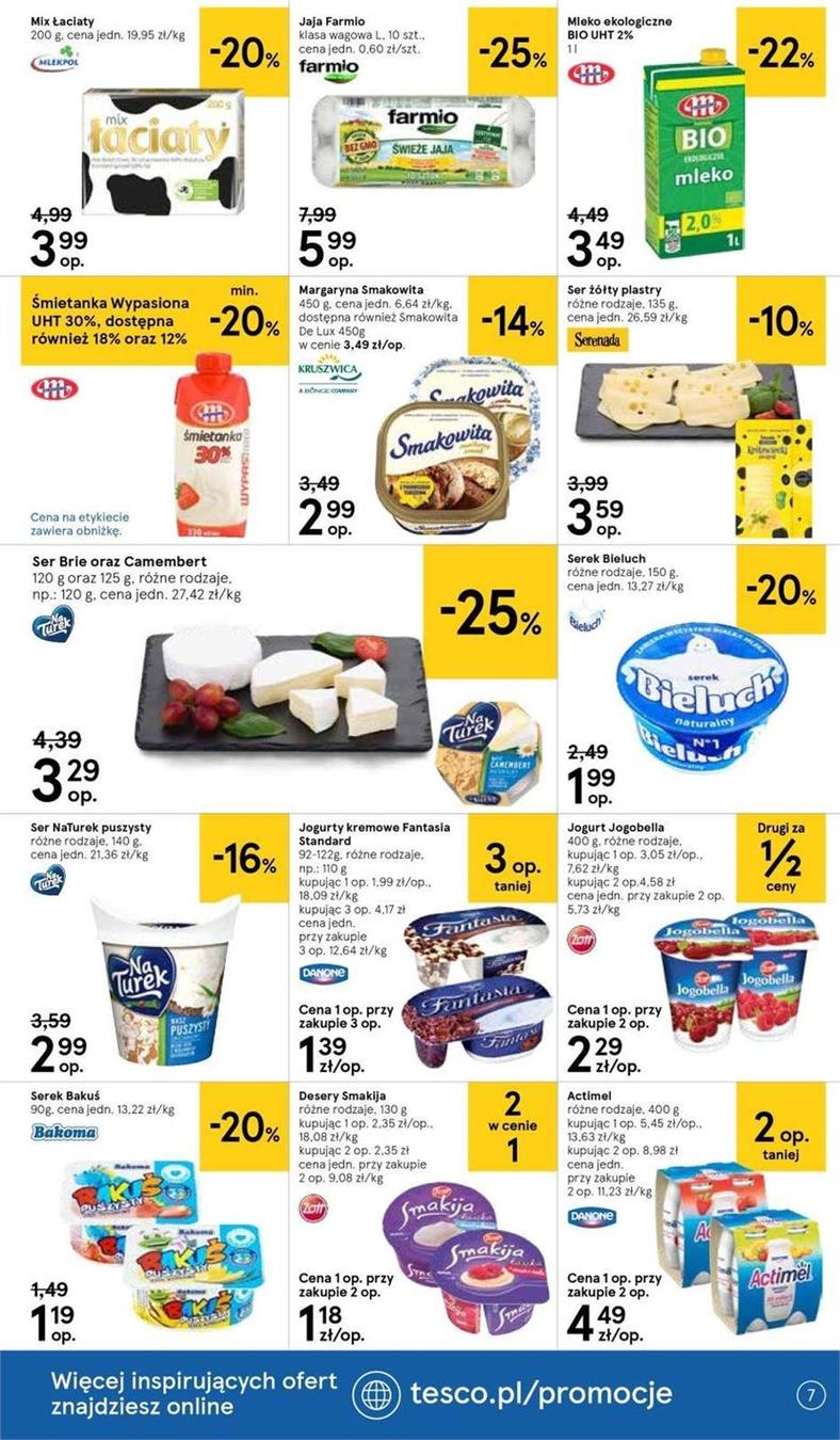 Gazetka Tesco Polska Sp. z o.o. nr 22 od 2019-06-19 do 2019-06-26