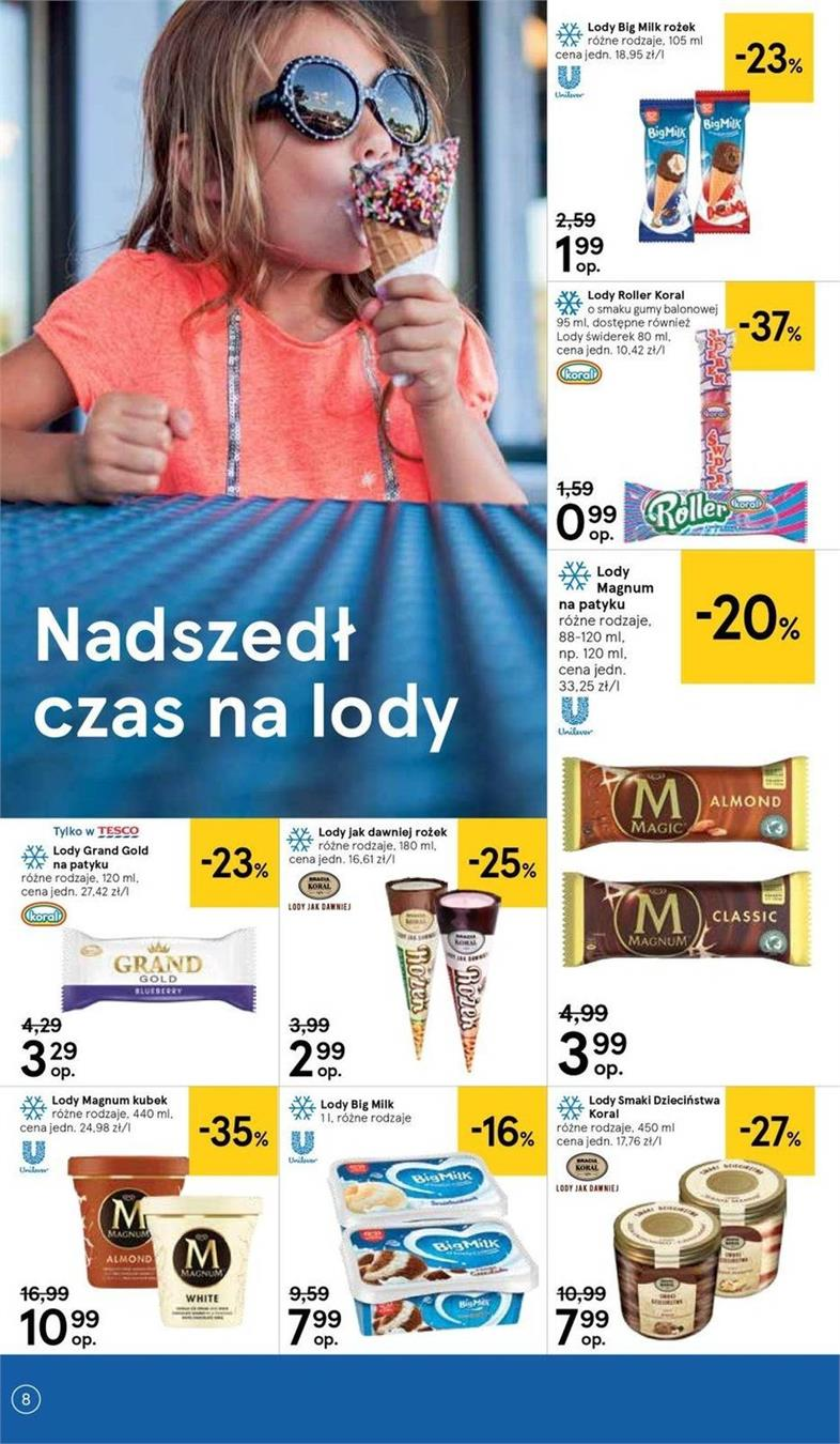 Gazetka Tesco Polska Sp. z o.o. nr 23 od 2019-06-19 do 2019-06-26