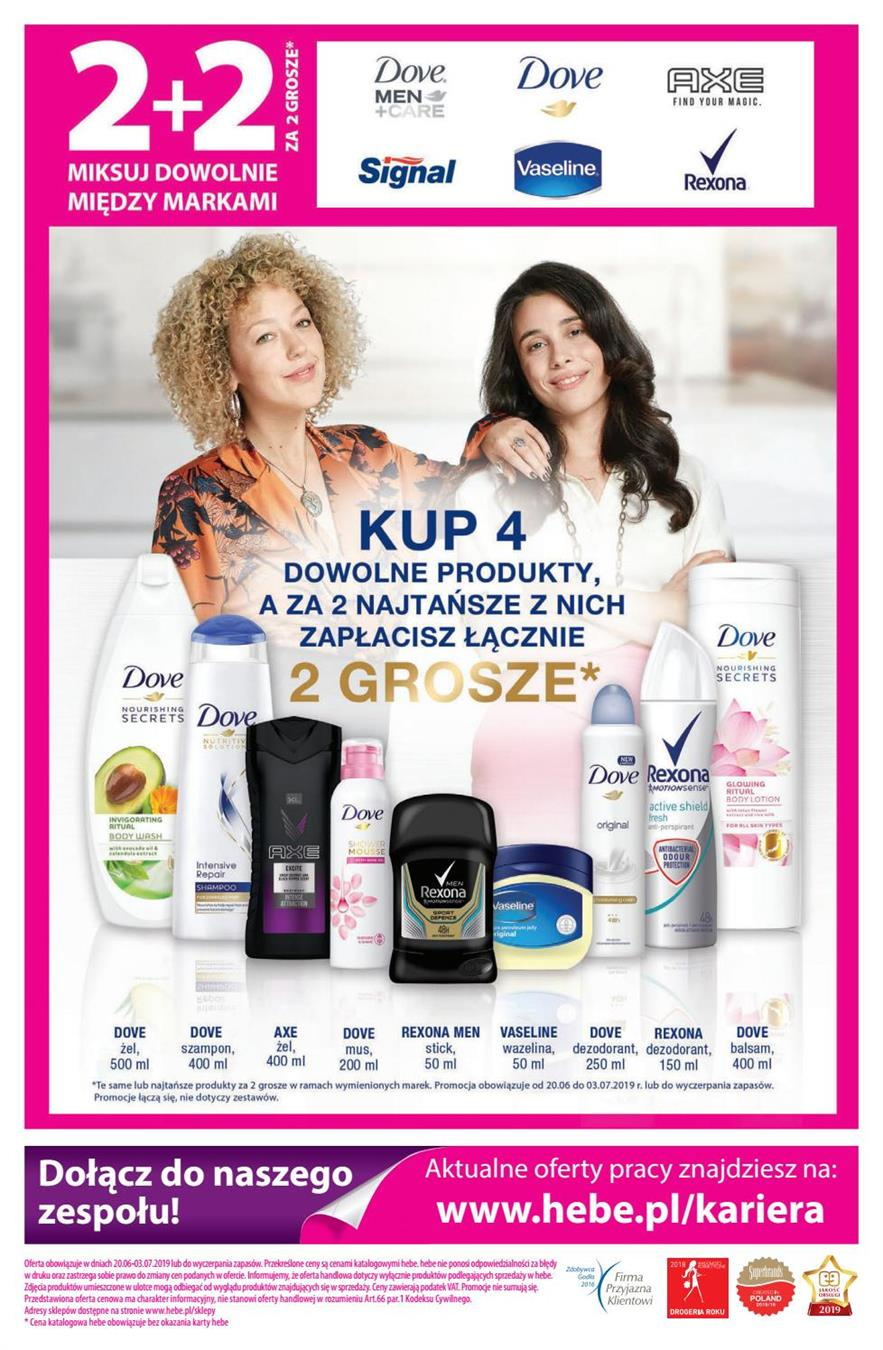 Gazetka Jeronimo Martins Drogerie i Farmacja Sp. z o.o. nr 8 od 2019-06-20 do 2019-07-03