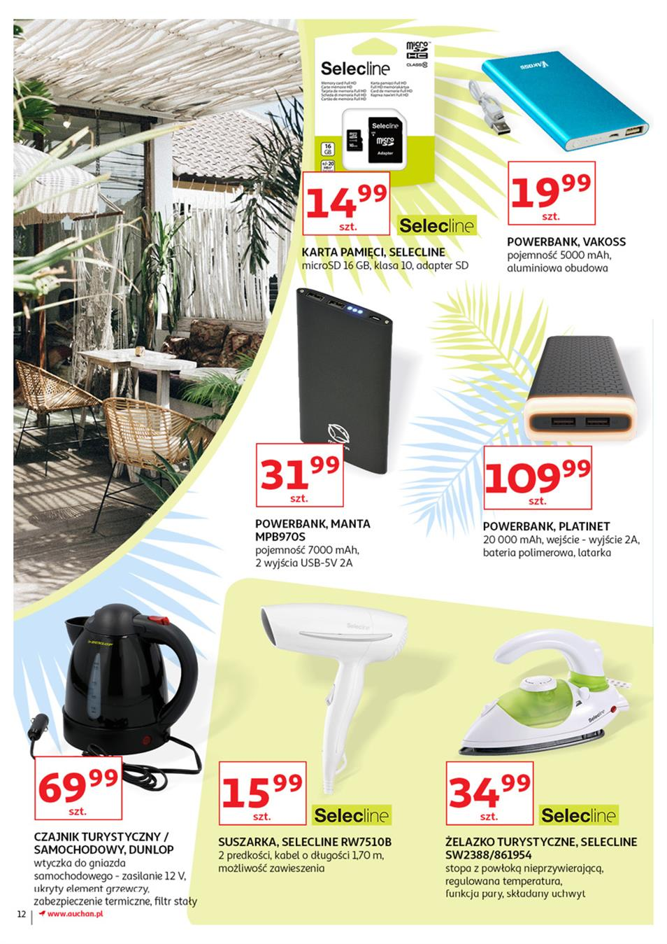 Gazetka Auchan Polska Sp. z o.o. nr 12 od 2019-06-21 do 2019-07-03