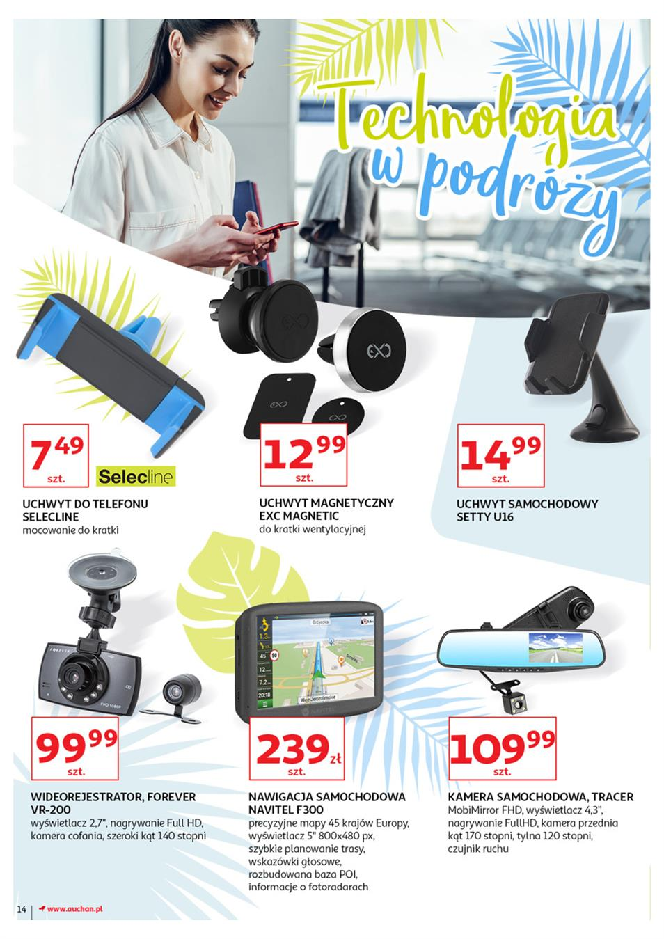Gazetka Auchan Polska Sp. z o.o. nr 14 od 2019-06-21 do 2019-07-03