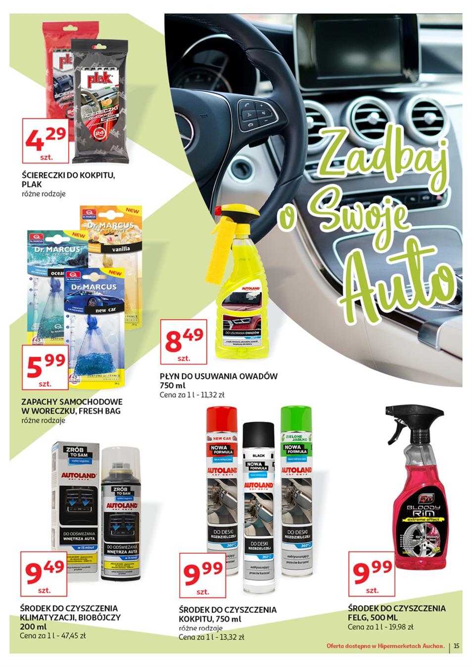 Gazetka Auchan Polska Sp. z o.o. nr 15 od 2019-06-21 do 2019-07-03