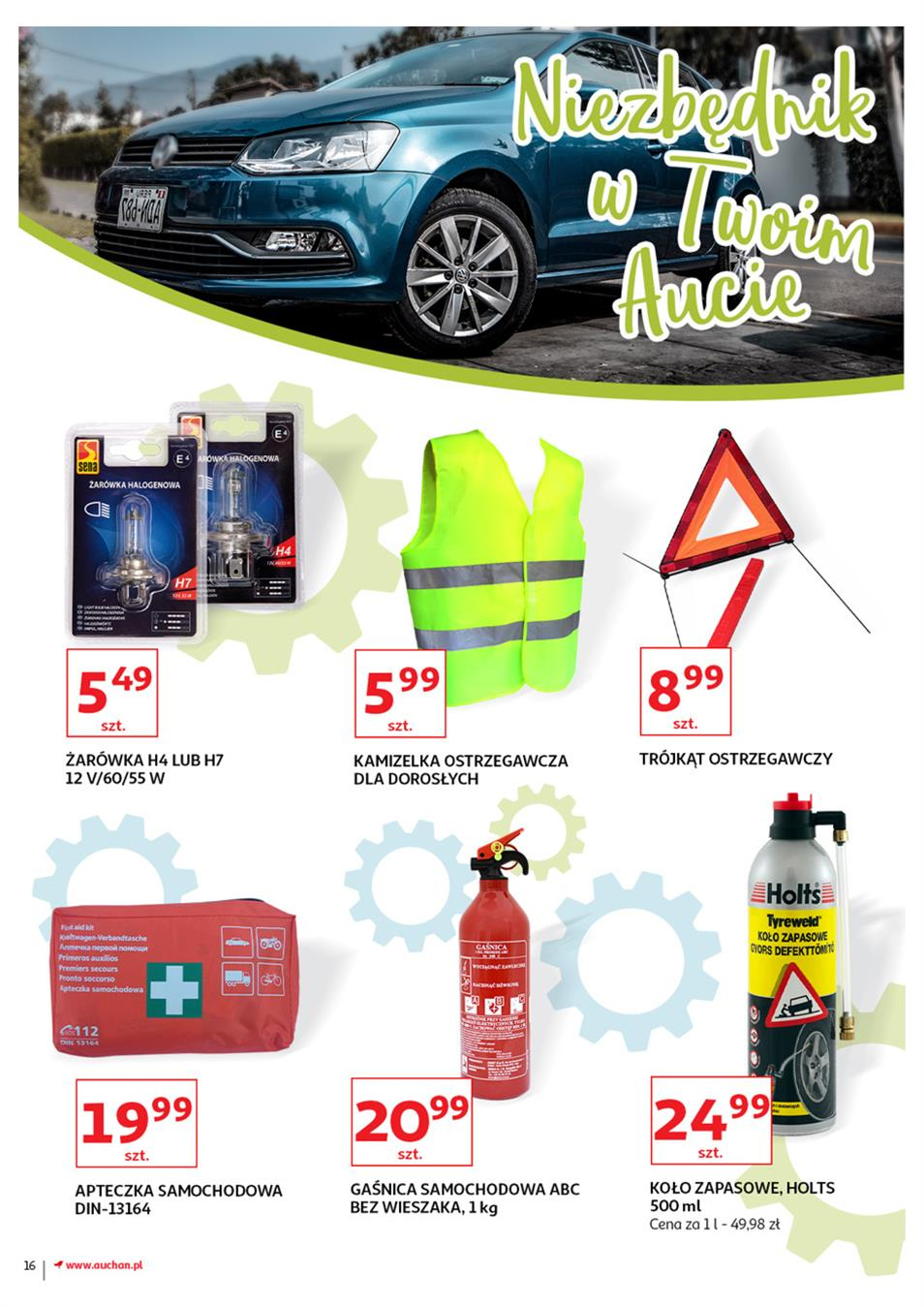 Gazetka Auchan Polska Sp. z o.o. nr 16 od 2019-06-21 do 2019-07-03
