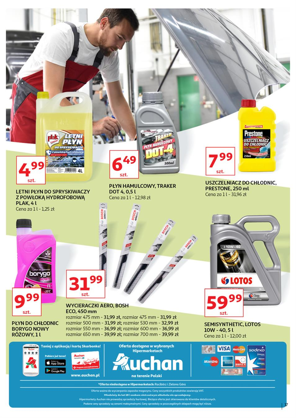 Gazetka Auchan Polska Sp. z o.o. nr 17 od 2019-06-21 do 2019-07-03