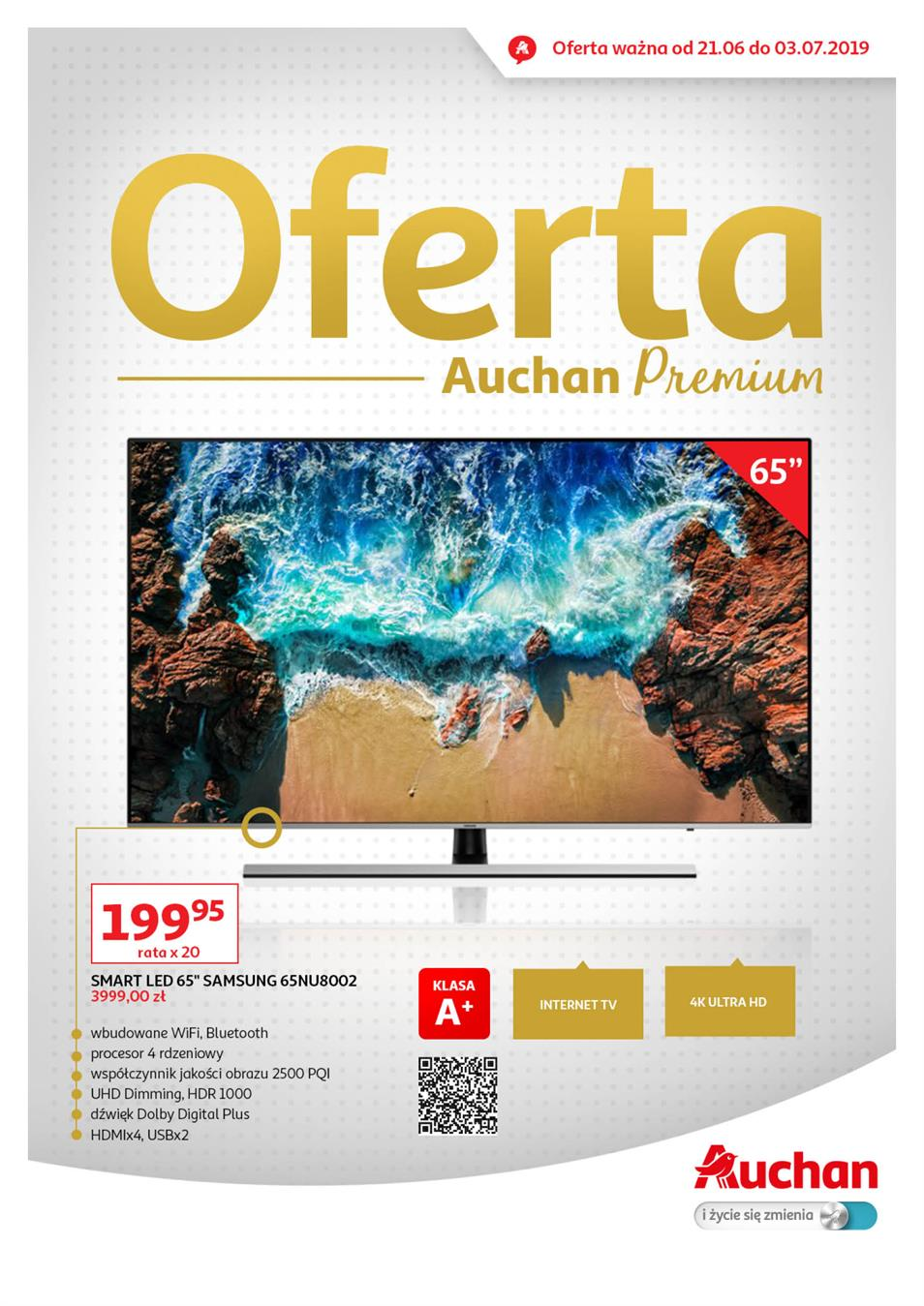 Gazetka Auchan Polska Sp. z o.o. nr 1 od 2019-06-21 do 2019-07-03