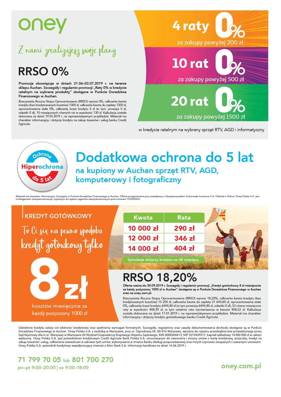 Gazetka Auchan Polska Sp. z o.o. nr 2 od 2019-06-21 do 2019-07-03