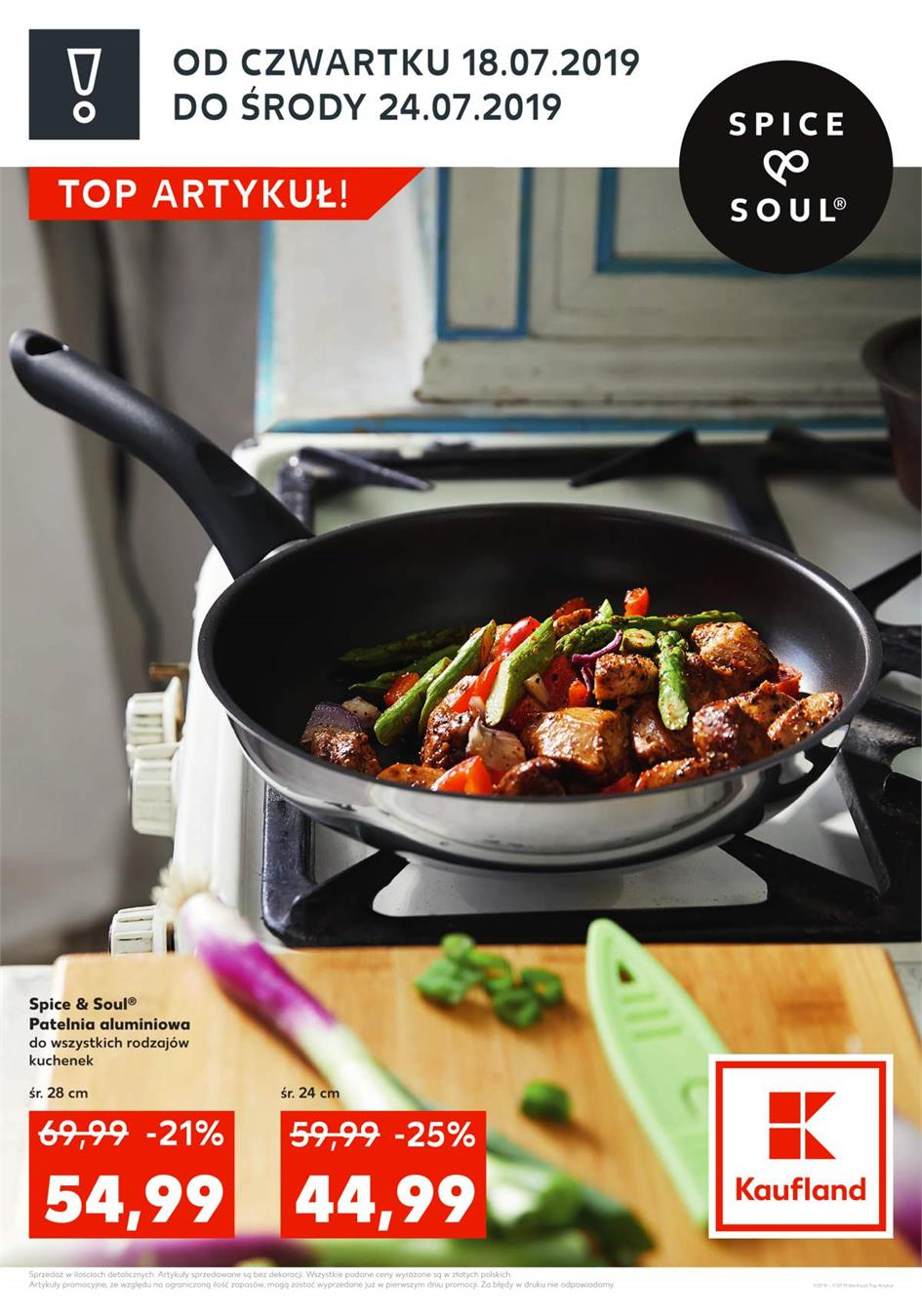 Gazetka Kaufland Polska Markety Sp. z o.o nr 1 od 2019-07-18 do 2019-07-24