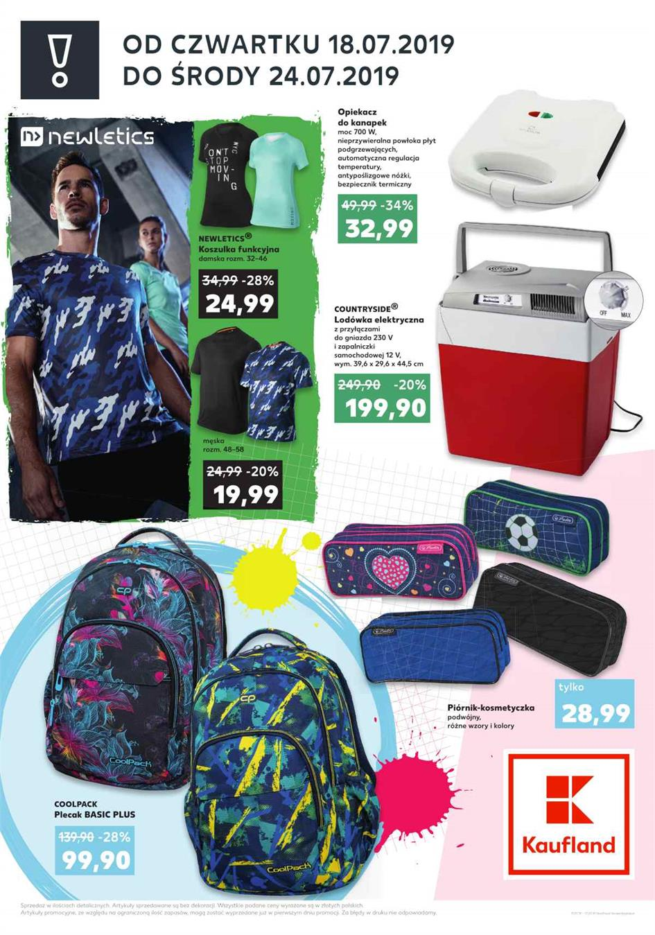Gazetka Kaufland Polska Markety Sp. z o.o nr 2 od 2019-07-18 do 2019-07-24