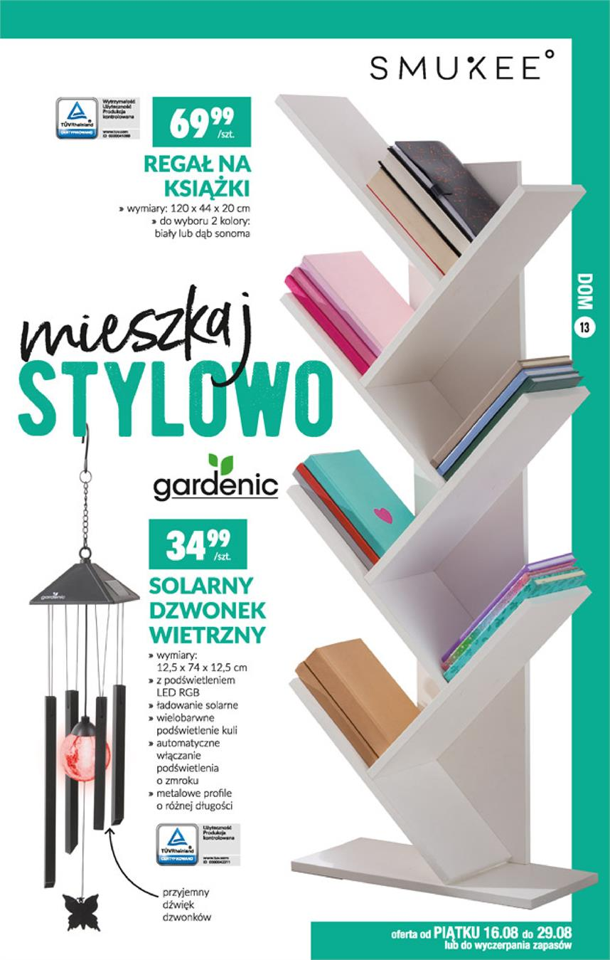 Gazetka Jeronimo Martins Polska SA nr 13 od 2019-08-16 do 2019-08-25