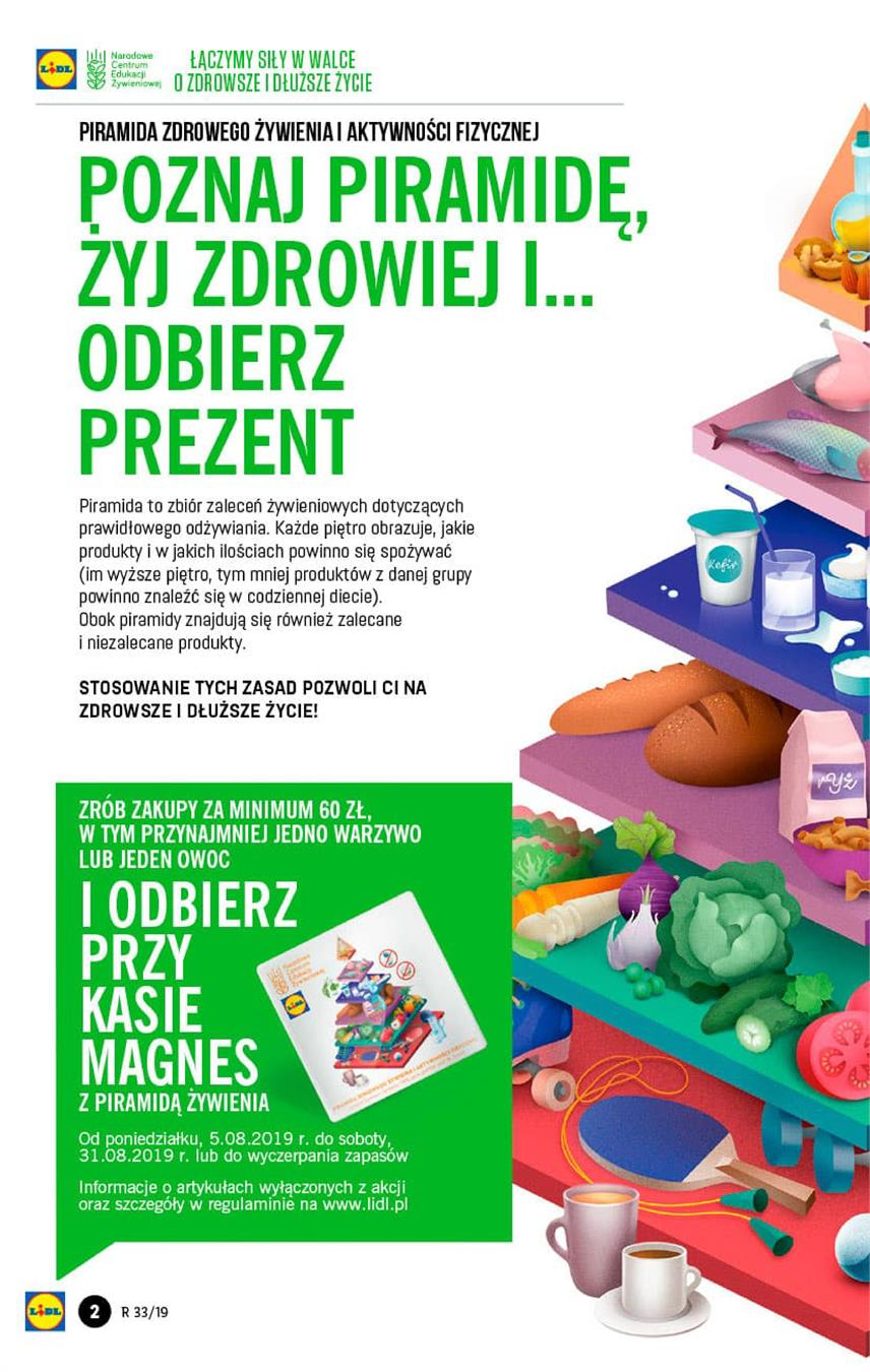 Gazetka Lidl Polska Sp. z o.o. nr 2 od 2019-08-16 do 2019-08-17