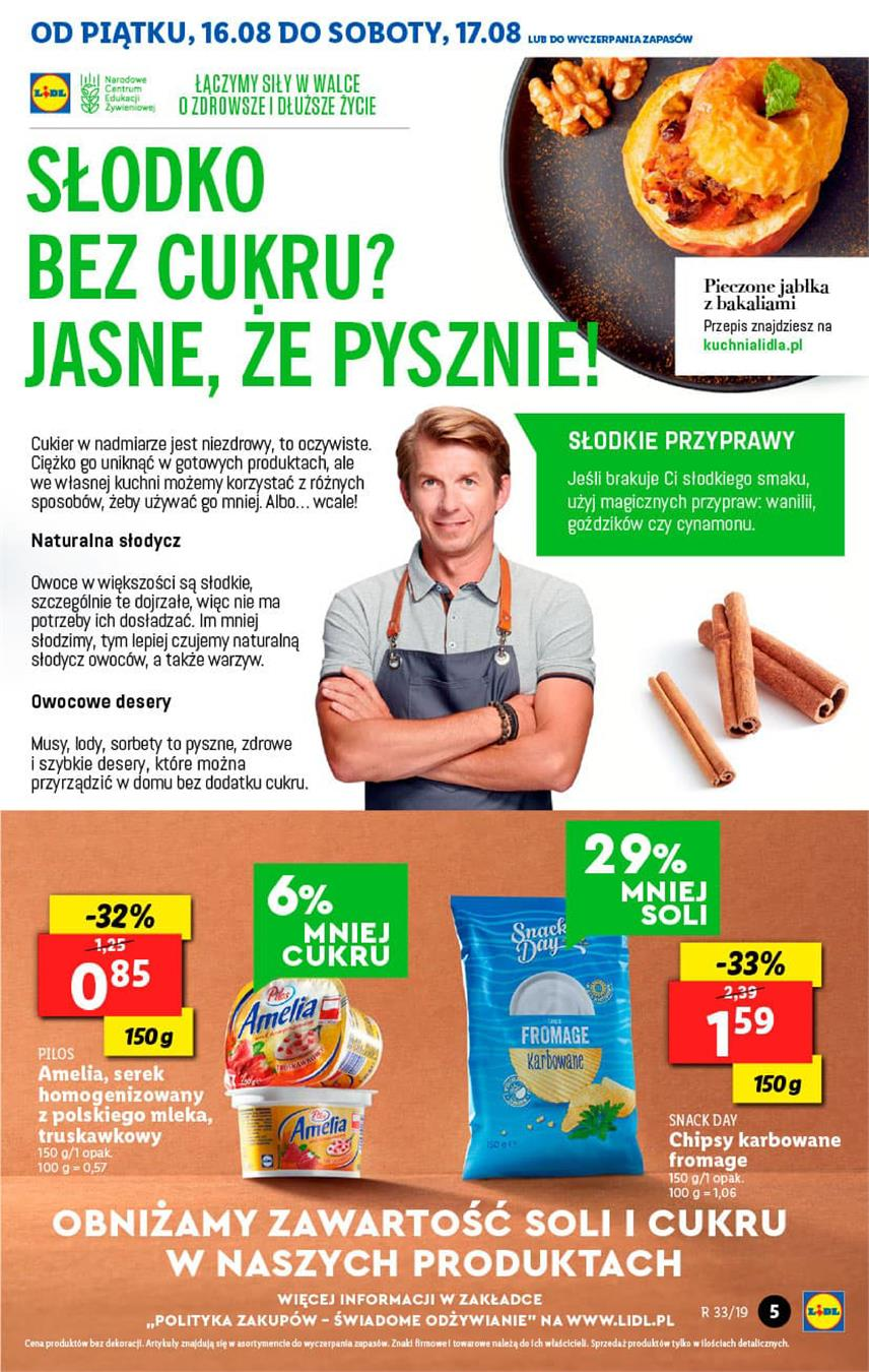 Gazetka Lidl Polska Sp. z o.o. nr 5 od 2019-08-16 do 2019-08-17