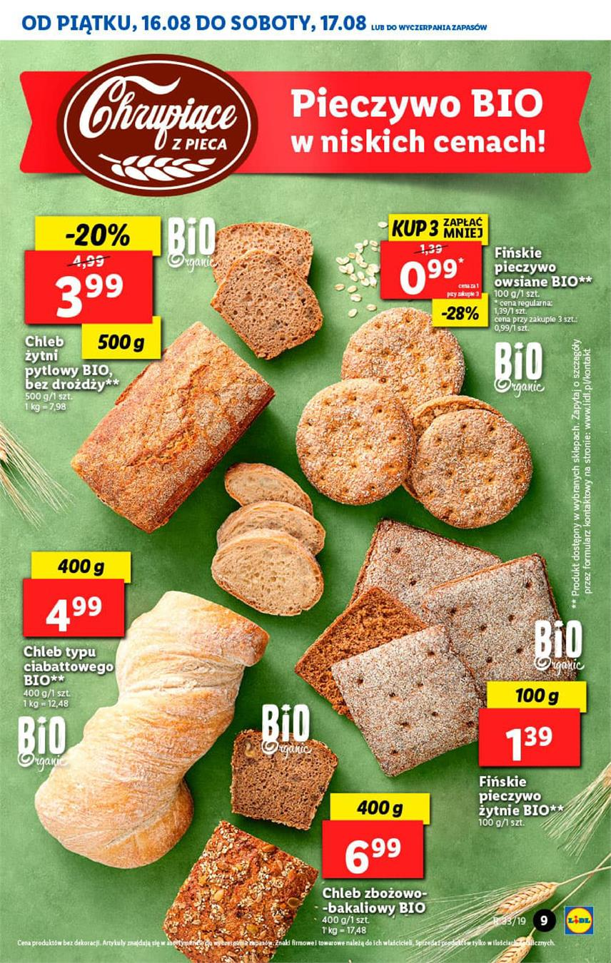 Gazetka Lidl Polska Sp. z o.o. nr 9 od 2019-08-16 do 2019-08-17