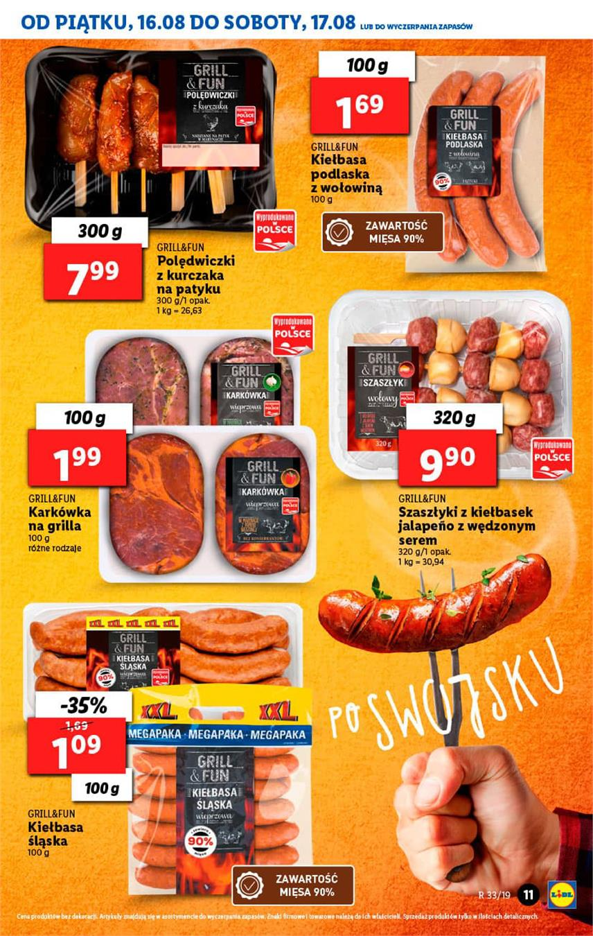 Gazetka Lidl Polska Sp. z o.o. nr 11 od 2019-08-16 do 2019-08-17