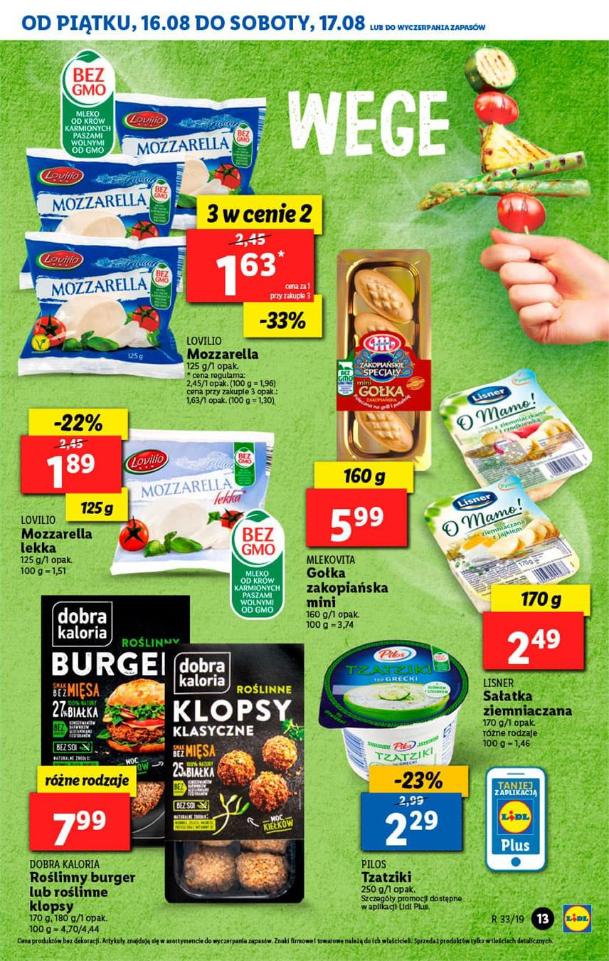 Gazetka Lidl Polska Sp. z o.o. nr 13 od 2019-08-16 do 2019-08-17