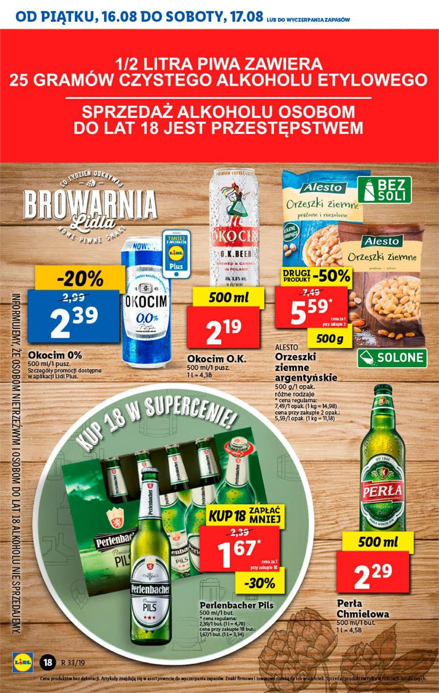 Gazetka Lidl Polska Sp. z o.o. nr 18 od 2019-08-16 do 2019-08-17