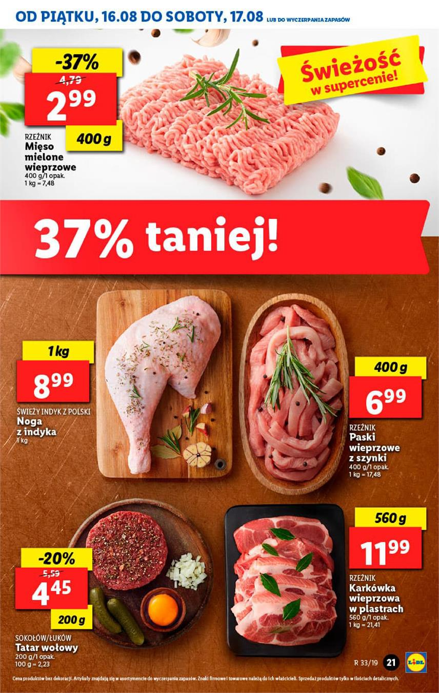 Gazetka Lidl Polska Sp. z o.o. nr 21 od 2019-08-16 do 2019-08-17