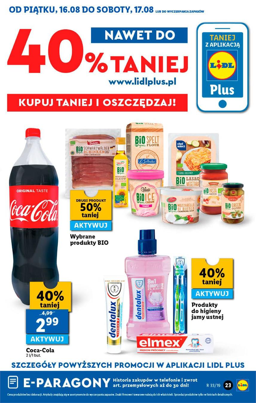 Gazetka Lidl Polska Sp. z o.o. nr 23 od 2019-08-16 do 2019-08-17