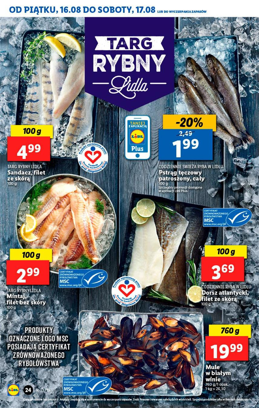 Gazetka Lidl Polska Sp. z o.o. nr 24 od 2019-08-16 do 2019-08-17