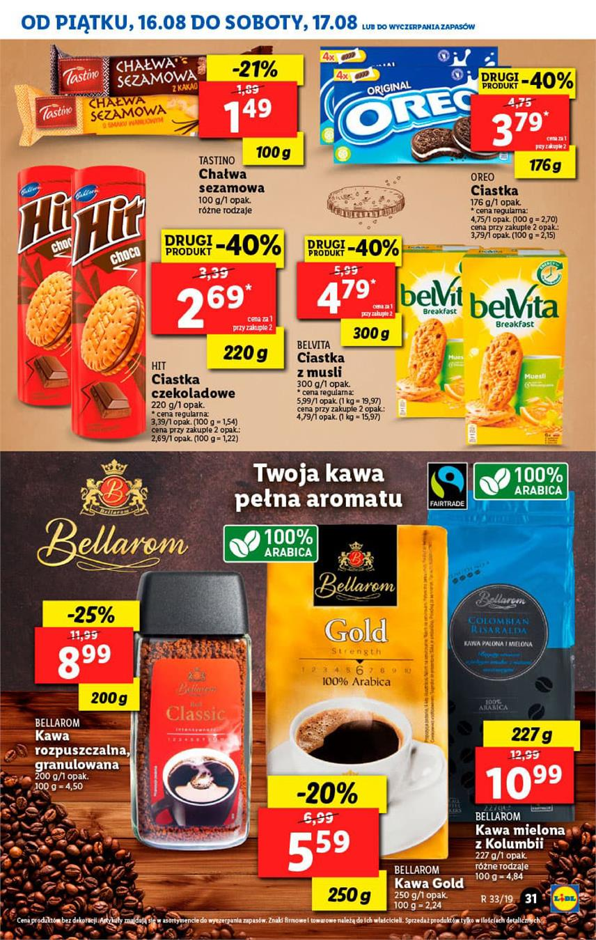 Gazetka Lidl Polska Sp. z o.o. nr 31 od 2019-08-16 do 2019-08-17